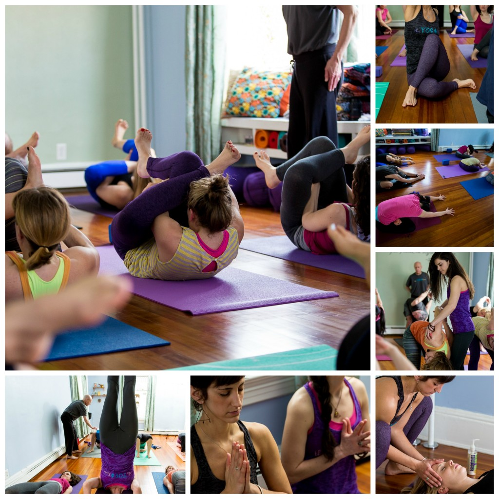 The Yoga House Playful Studio Collage