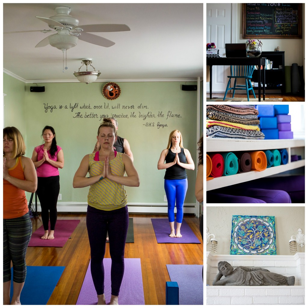 The Yoga House Studio Collage