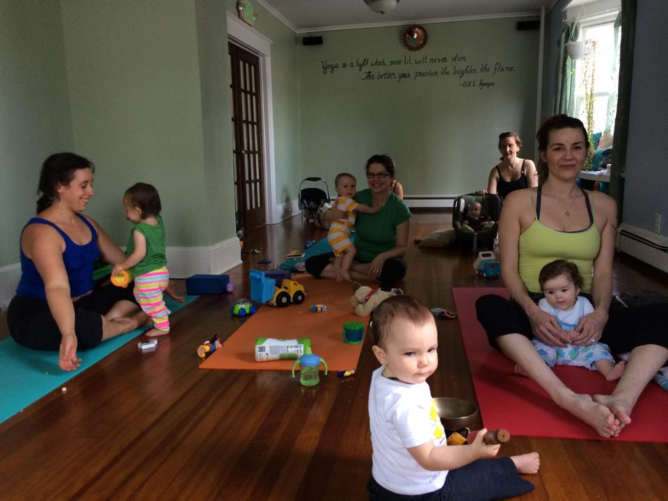Mama & Me Yoga, The Yoga House, Kingston, NY